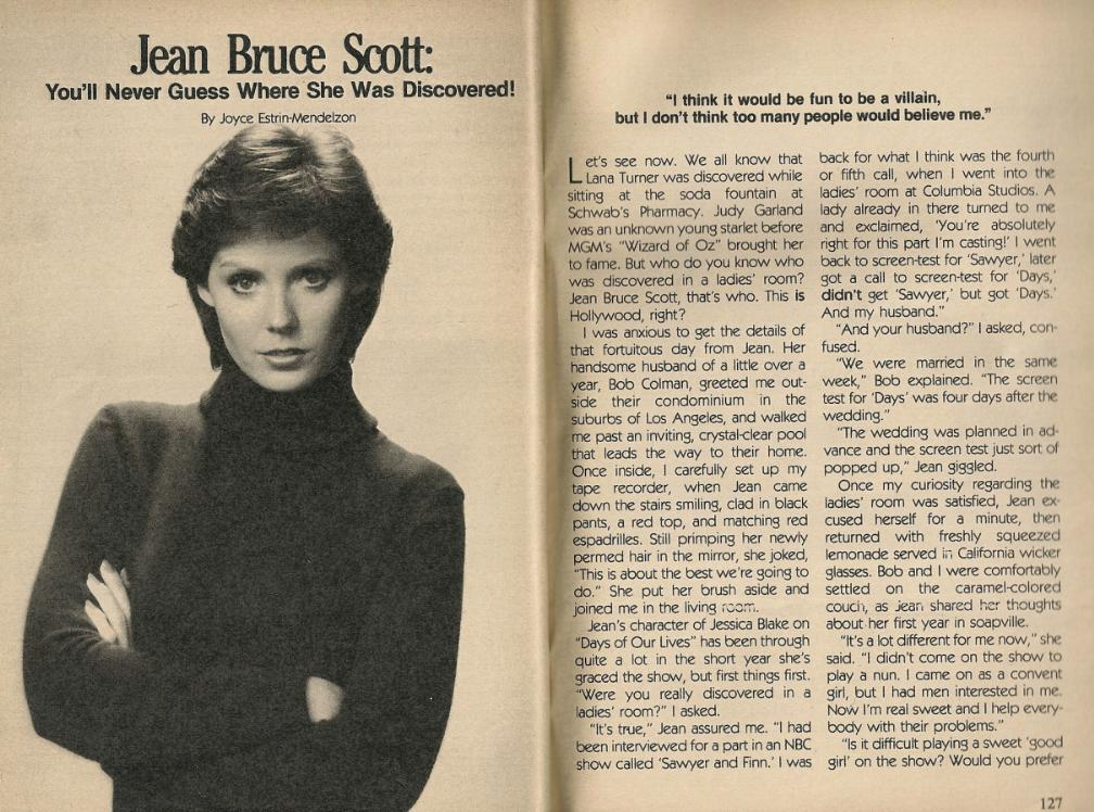 jean bruce scott days of our lives